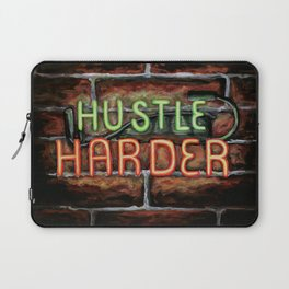 Hustle Harder Laptop Sleeve