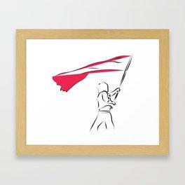 Les miz - to freedom Framed Art Print