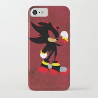 shadow iPhone & iPod Cases featuring Shadow by JHTY