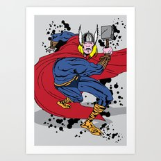 Thor fooks sake  Art Print
