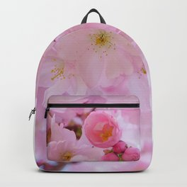 Pink Japanese Cherry Tree Blossom Backpack