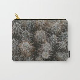 Monochrome Cactus in Joshua Tree National Park, California Carry-All Pouch