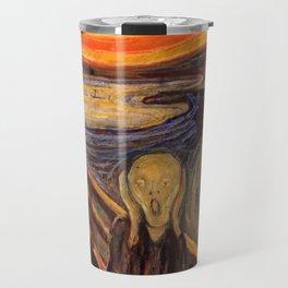 """Edvard Munch """"The Scream"""", 1893 Travel Mug"""