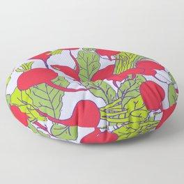 Radish Vegetable Pattern Floor Pillow