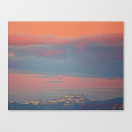 Last Night's Sky 1 Canvas Print