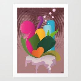 Coeur  Art Print