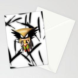 Chibi Hawkgirl Stationery Cards