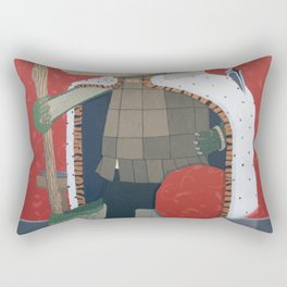 Crocodile King (KNG) Rectangular Pillow