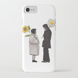 Harold and Maude Sunflower and Daisy iPhone Case