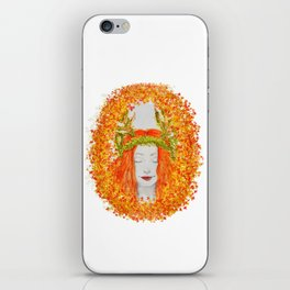 Ô nymphe des bois. iPhone Skin