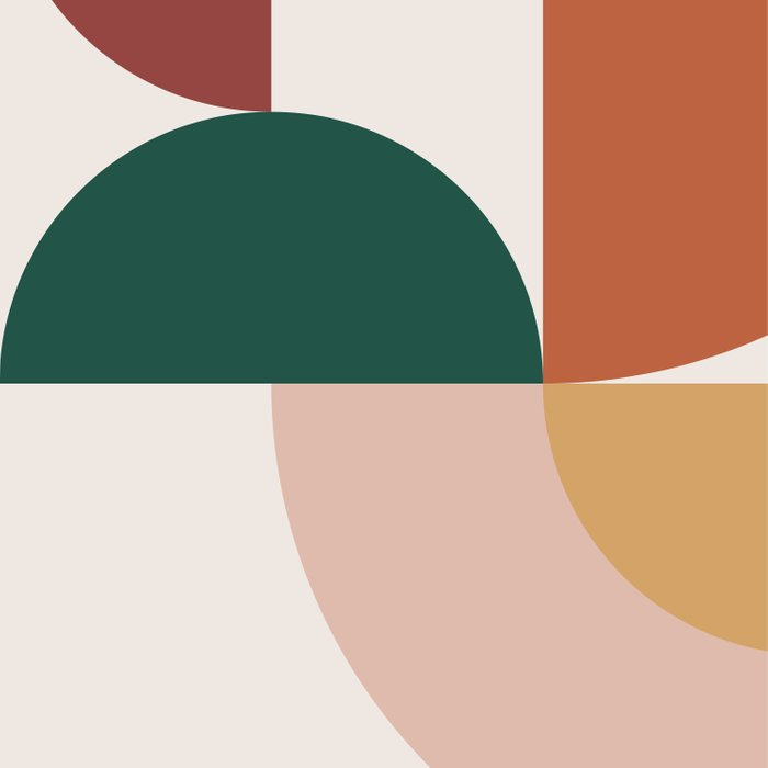 Abstract Geometric 12 Comforters
