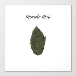 Remember to die: memento mori Canvas Print