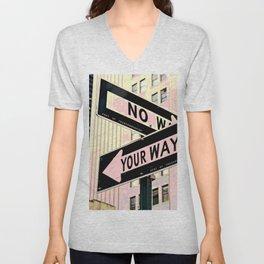 Your Way Unisex V-Neck