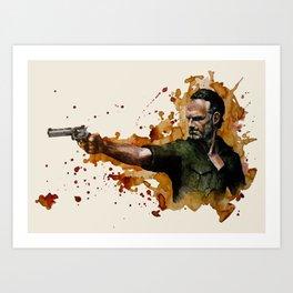 Rick Art Print
