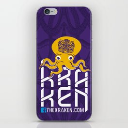 THEKRAKEN.COM iPhone Skin
