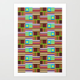Afro Nation Vibe II Art Print