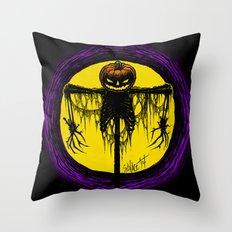 Killing Moon Throw Pillow