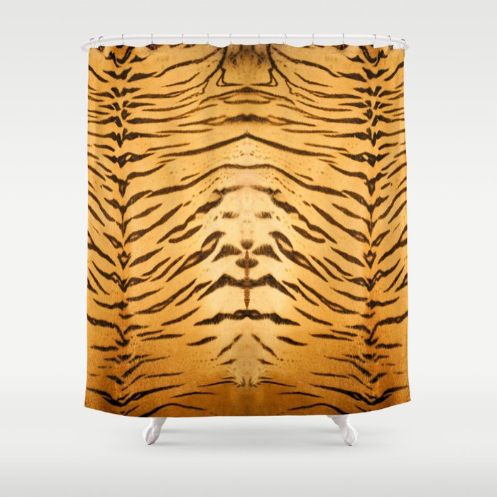 Tiger Animal Print Shower Curtain