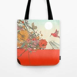 Passing Existence Tote Bag