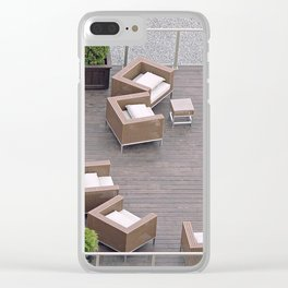 Seating Arrangement Clear iPhone Case