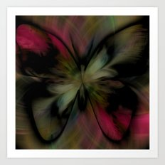 Butterfly Feathers Art Print