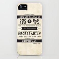 Good Things & Bad Things iPhone (5, 5s) Slim Case
