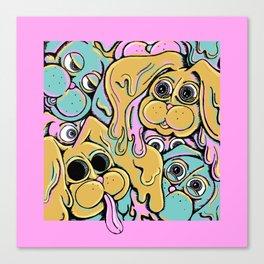 Bunny Brained Canvas Print