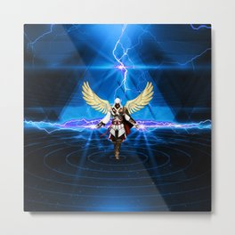 CREED ASSASSINS -  FLY Metal Print