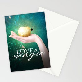 Love is Magic Stationery Cards
