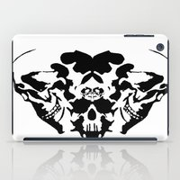 rorschach iPad Cases featuring Rorschach  by yayanastasia