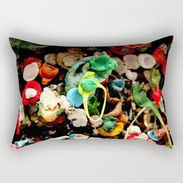 Gum Wall Rectangular Pillow