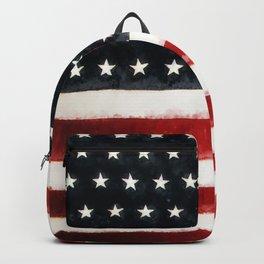 USA Flag ~ American Flag ~ Ginkelmier Inspired Backpack