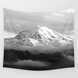 Marvelous Mount Rainier Wall Tapestry