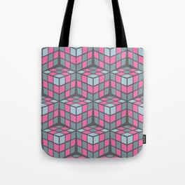cascade - pink Tote Bag