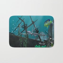Shipwreck Bath Mat
