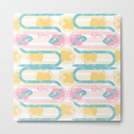 Sweet Baby Snakes Medium Metal Print