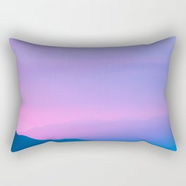 Sunset Layers Rectangular Pillow