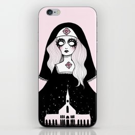 STRAWBERRY WINE CATHEDRAL iPhone Skin