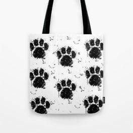 Pawprint Love Tote Bag