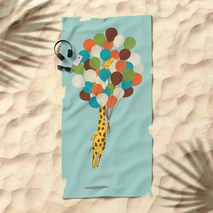 Floating Away Beach Towel
