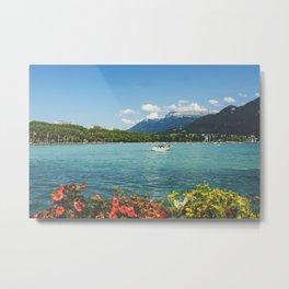 Annecy lake Metal Print