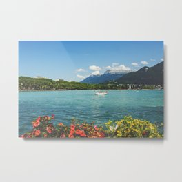 Annecy lake Metal Print