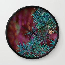 Surreal Japanise Ahorn Tree Wall Clock