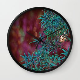 Surreal Japanise Ahorn Tree Wall Clock