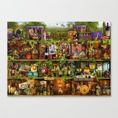 The Poetry of Wine Canvas Print