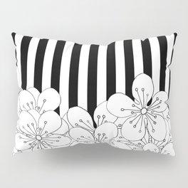 Cherry Blossom Stripes - In Memory of Mackenzie Pillow Sham