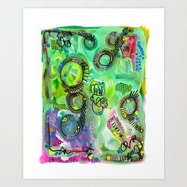 """eggplant in g minor"" Art Print"