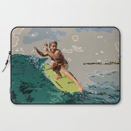 Toes on noes: Surfer Girl Laptop Sleeve