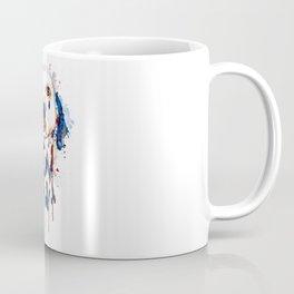 Dalmatian Head Watercolor Portrait Coffee Mug