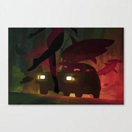 Backwoods Undertow Canvas Print